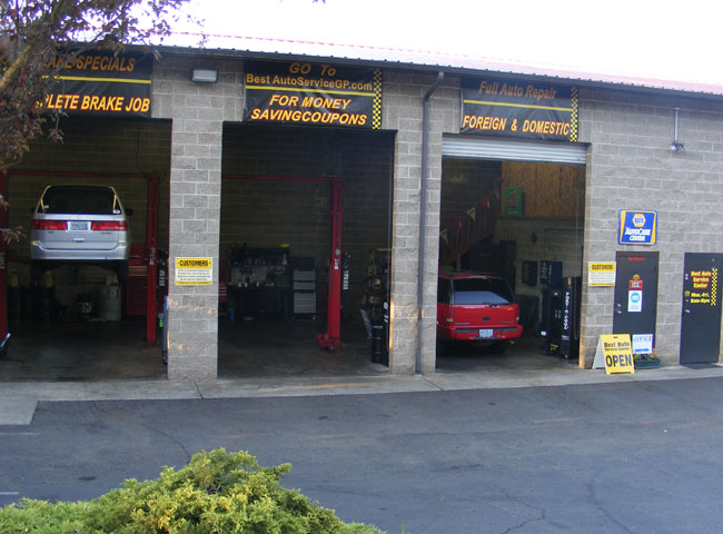 Best Auto Service Center, serving Grants Pass