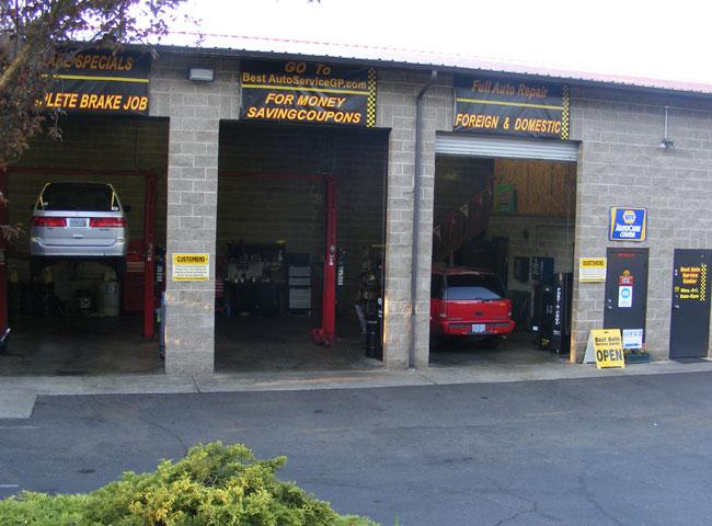 Best Auto Service Center, serving Grants Pass