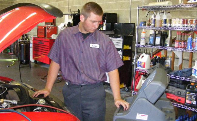 Chris, Technician