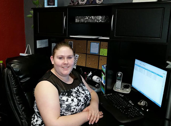 Aimee, Office Manager